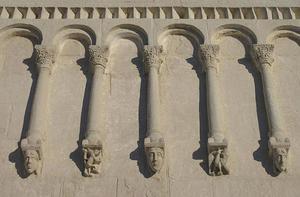 Храм Покрова на Нерли: фото барельфов