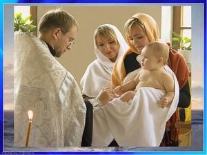 Правила крещения девочки