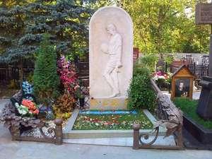 Надгробья знаменитостей на Ваганьковском кладбище