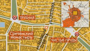 Сретенский монастырь: как добраться на метро