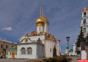 Московская область Сергиев Посад Троице-Сергиева лавра