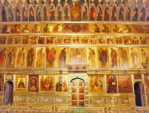 Иконостас Троице Сергиевой Лавры